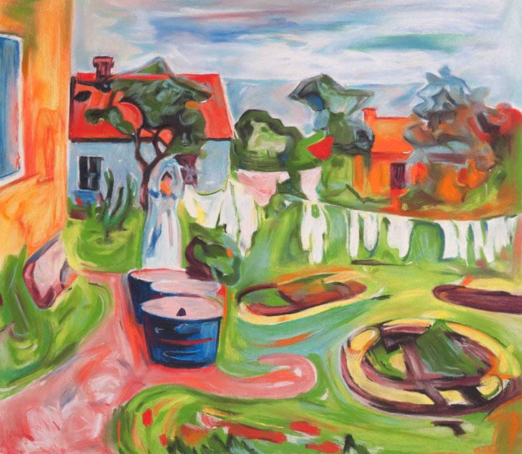 Guillaume Pinard - Le jardin d'Edvard, 2016