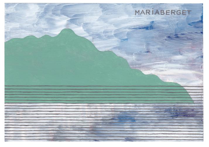 Jochen Gerner contemporary postcards Stockholm