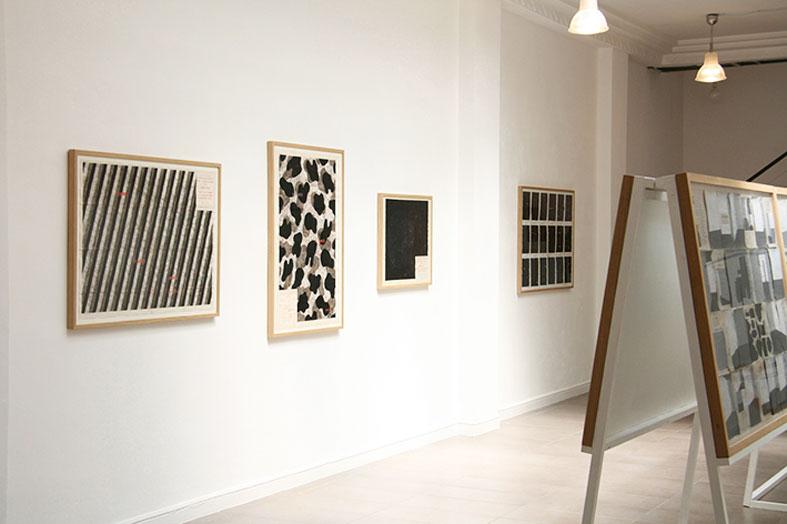 Jochen Gerner - Vue de l'expositionPerdre le Nord