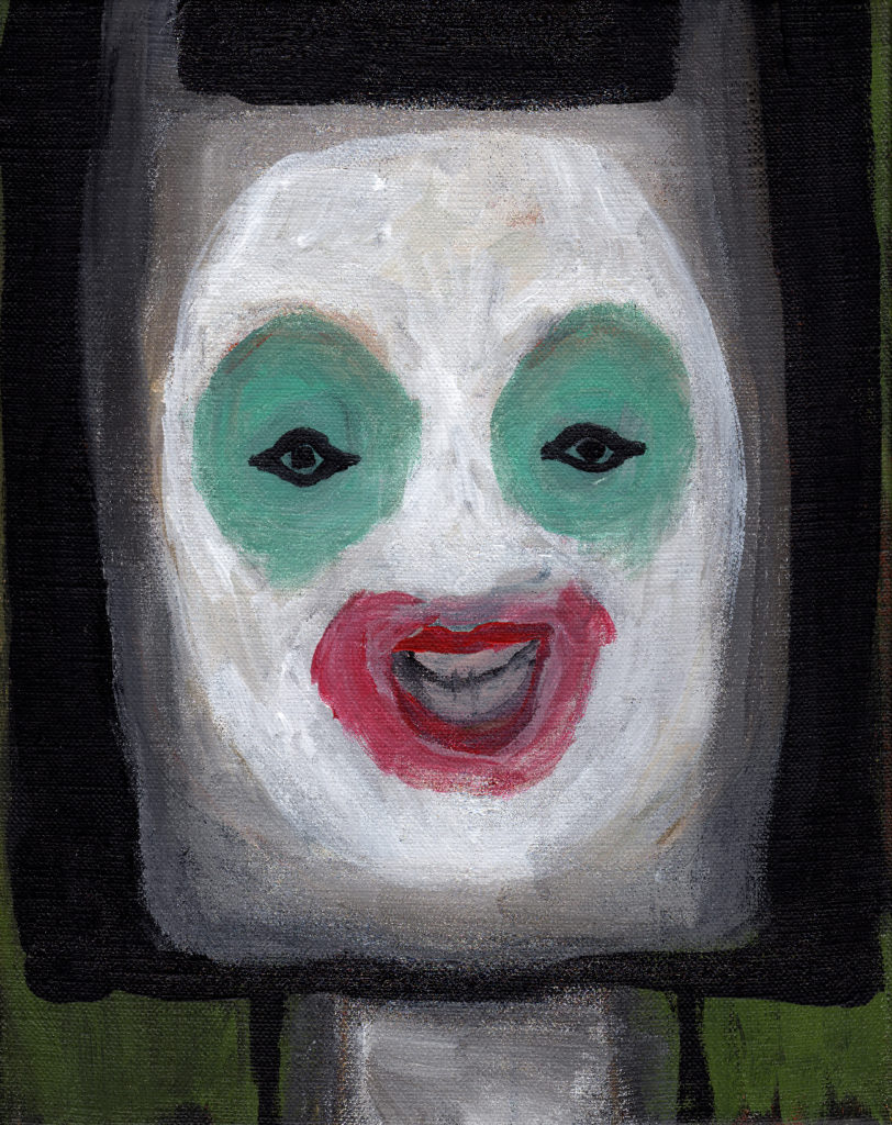 Guillaume Pinard, Masque bouche