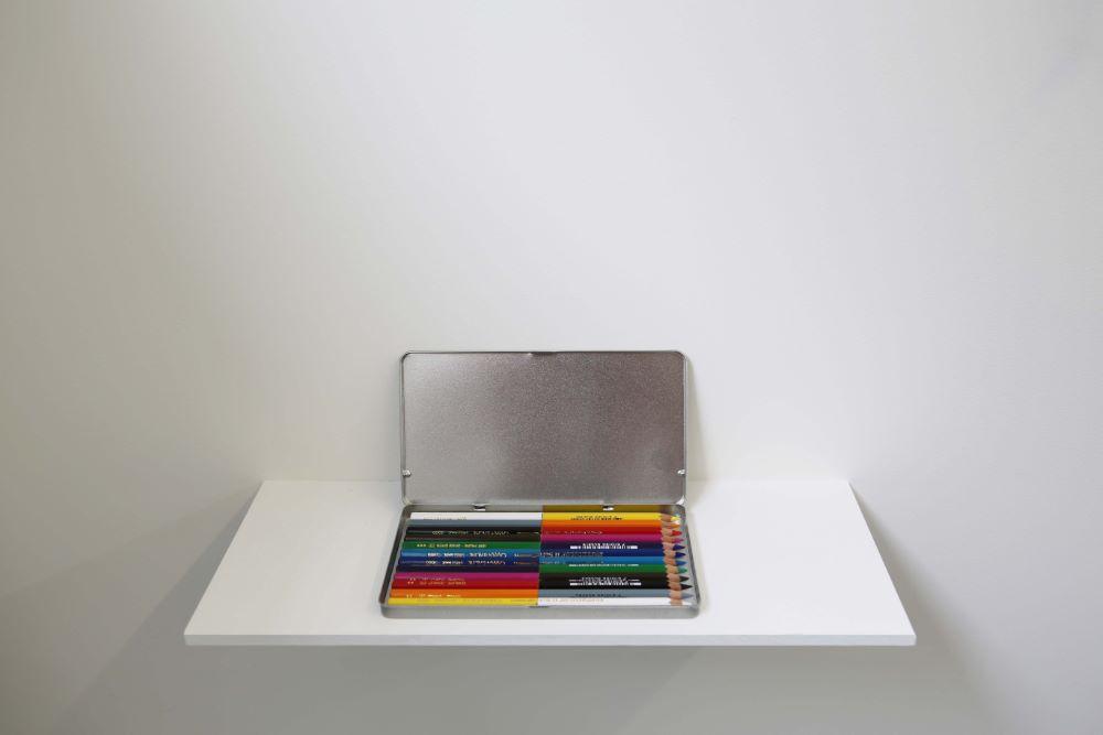 Stéphanie Saadé, crayons de couleur