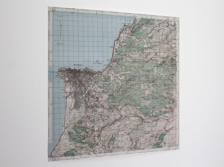 Stéphanie Saadé - Nostalgic Geography, 2013